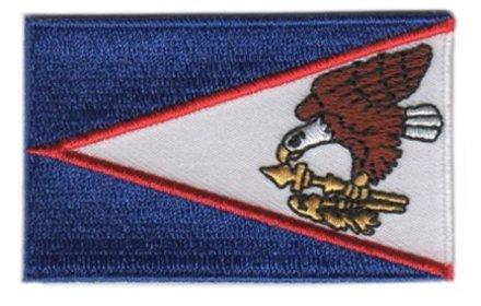 Flagge Patch Amerikanisch-Samoa