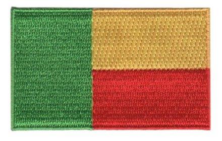 Flagge Patch Benin