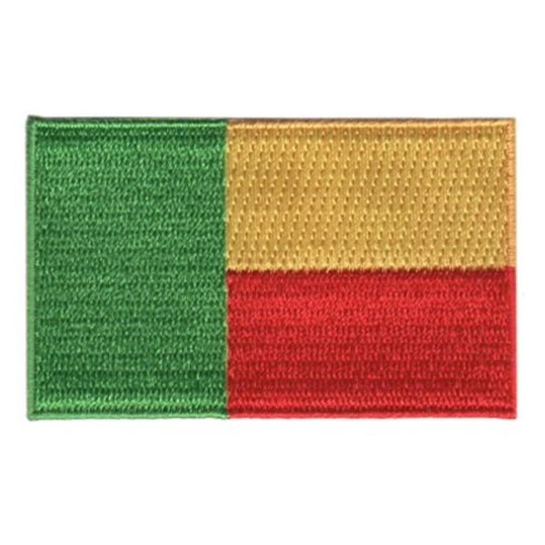 BACKPACKFLAGS flag patch Benin