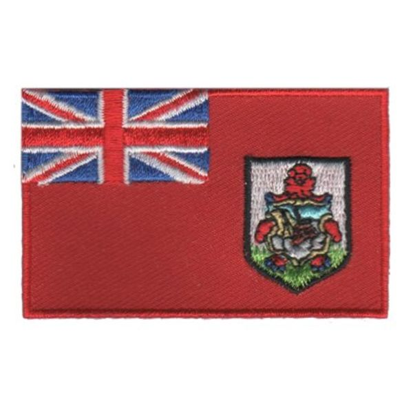 BACKPACKFLAGS flag patch Bermuda