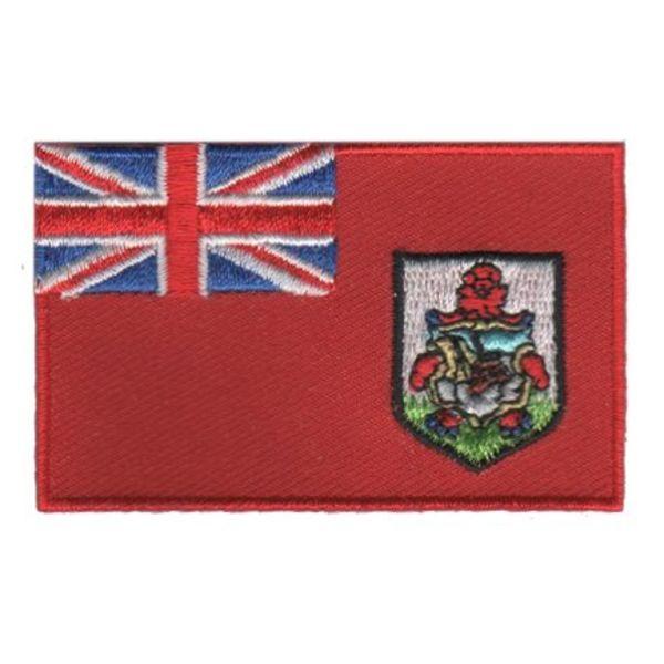 BACKPACKFLAGS flag patch Bermuda