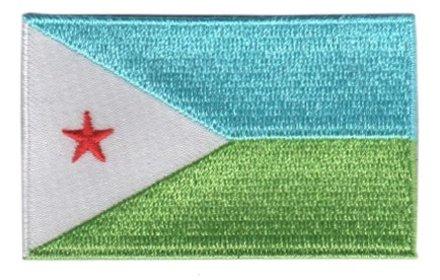 flag patch Djibouti