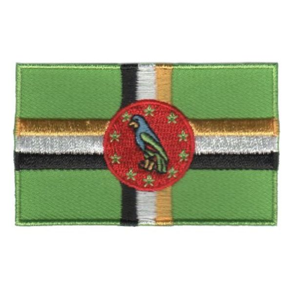 Flaggenpatch Dominica
