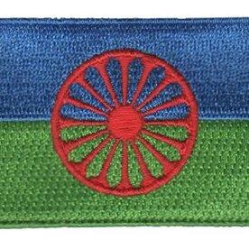 Fahne Patch Romani / Zigeuner