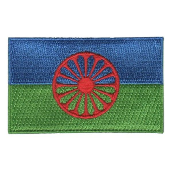 BACKPACKFLAGS flag patch Romani / Gypsy