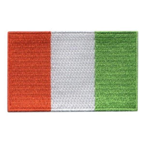 Flagge Patch Elfenbeinküste
