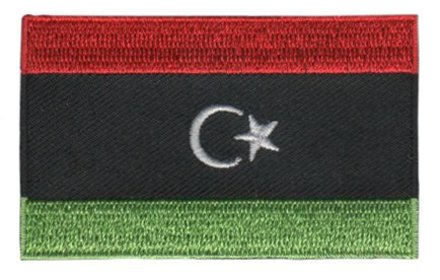 flag patch Libya