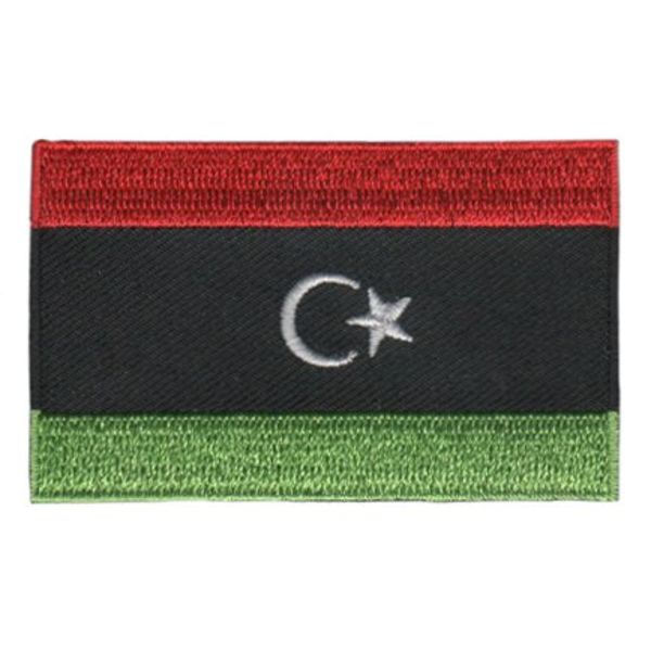BACKPACKFLAGS flag patch Libya