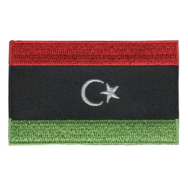 Flaggenflagge Libyen