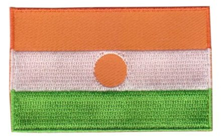 Flagge Patch Niger