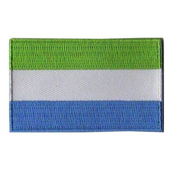 BACKPACKFLAGS flag patch Sierra Leone