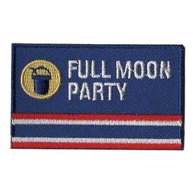 Flagge Patch Vollmond Party