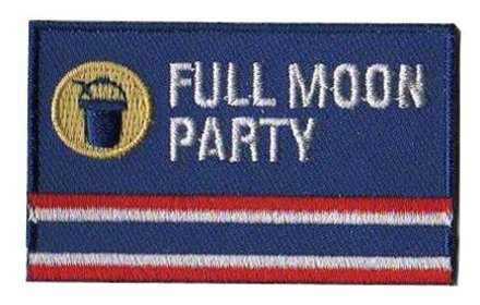 flag patch Full Moon Party