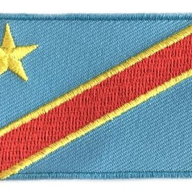 flag patch Democratic Republic of the Congo