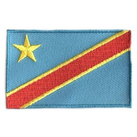 BACKPACKFLAGS flag patch Democratic Republic of the Congo