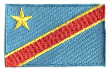 flag patch Democratic Republic of the Congo