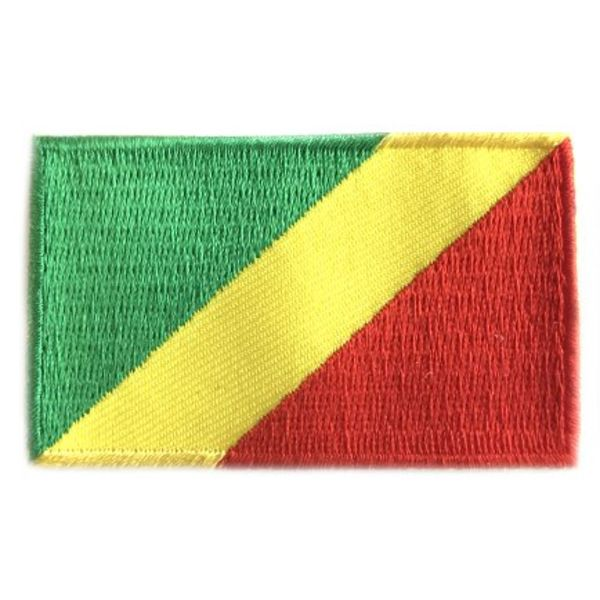 BACKPACKFLAGS flag patch Republic of the Congo