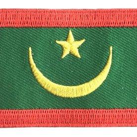 BACKPACKFLAGS flag patch Mauritania