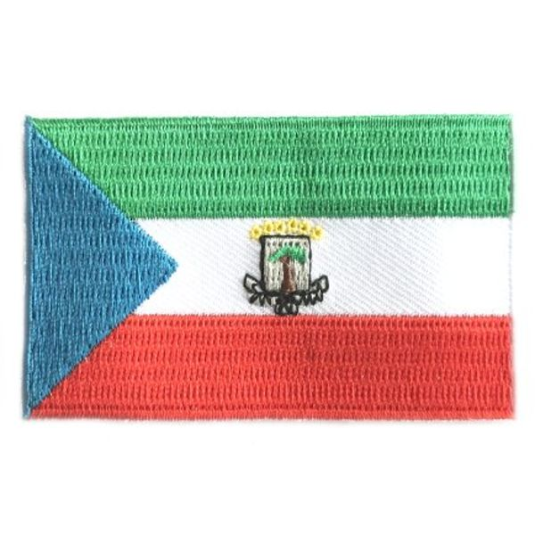 BACKPACKFLAGS flag patch Equatorial Guinea