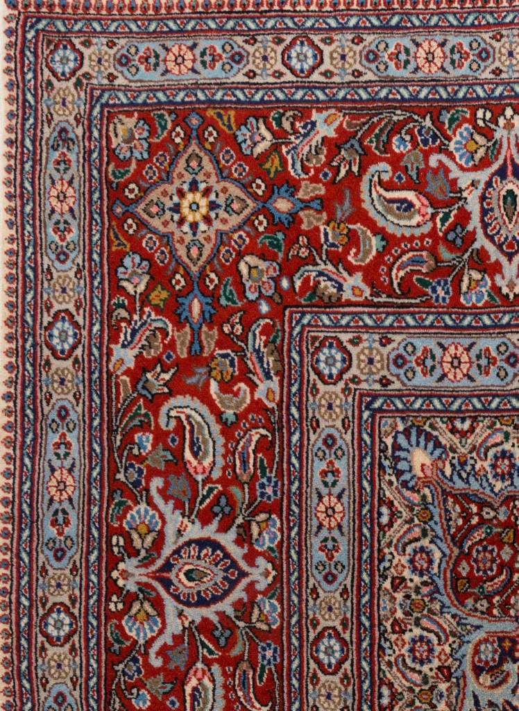 Perzisch Dorokhsh tapijt met zijde