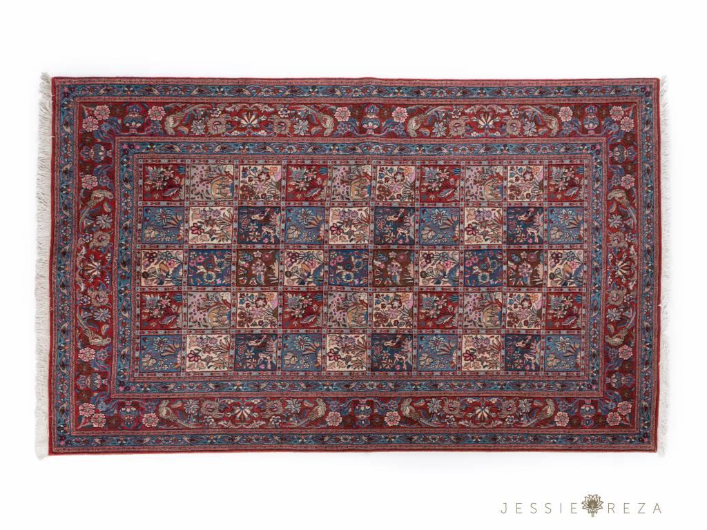 Reinigen Perzisch Tapijt : Perzisch tapijt met tuinmotief jessieandreza