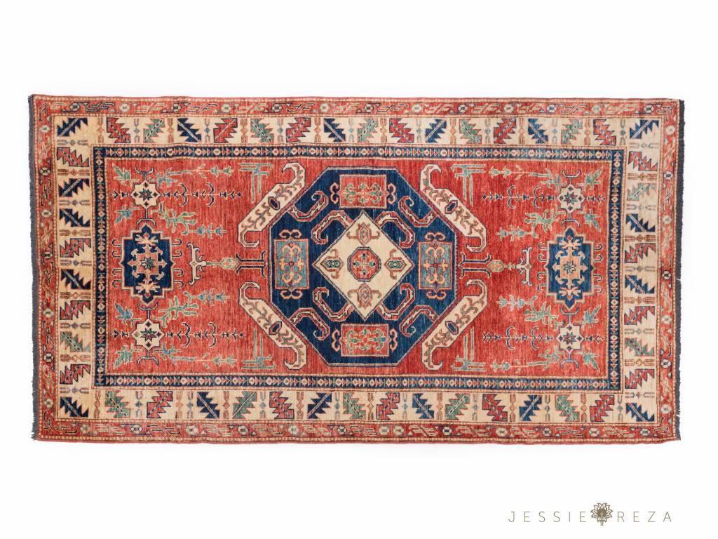 Fijn Perzisch Kazakroyal tapijt