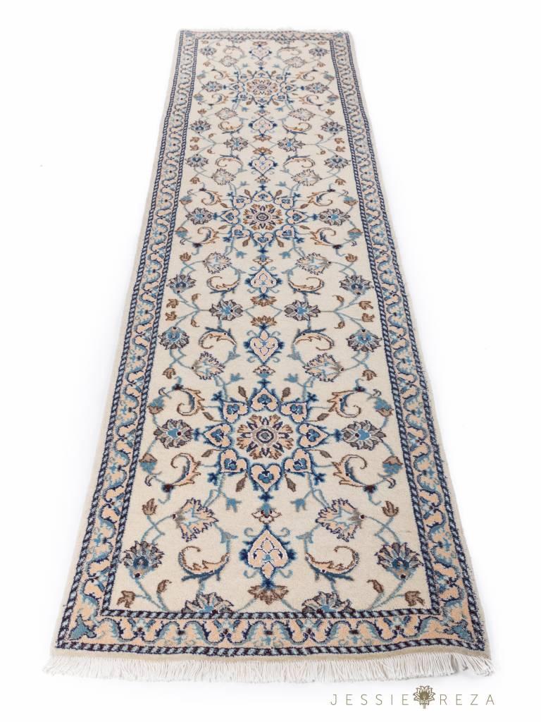 Perzische Naïn loper met zijde
