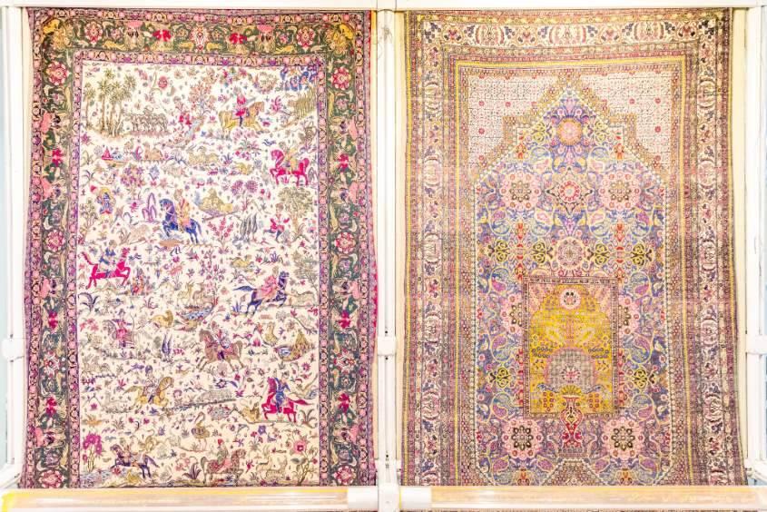 Het Tapijtenmuseum in Teheran