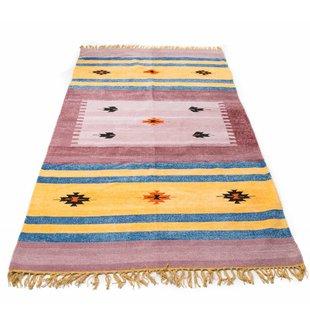 Indiaas kelim tapijt  groot