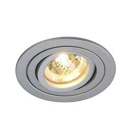 TRIA 2, inbouwspot, rond, zilvergrijs, MR16, max. 35W