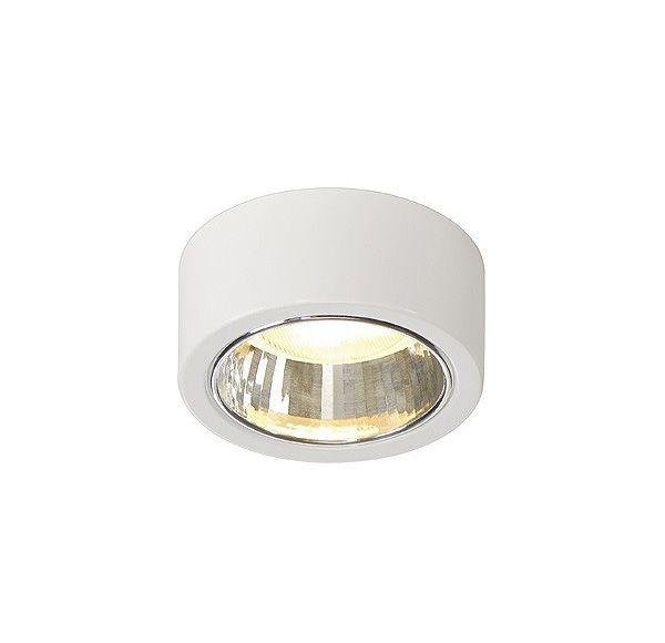 CL 101 GX53, plafond armatuur, rond, wit, max. 11W