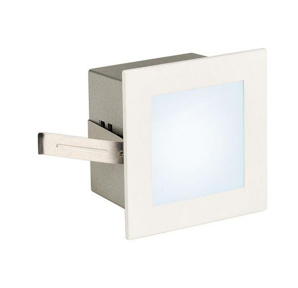 FRAME BASIC LED, inbouw armatuur, vierkant, mat wit, witte LED,