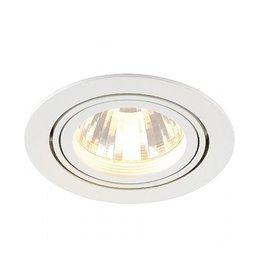 NEW TRIA LED DISK, inbouwspot, rond, wit, 2700K, 60°