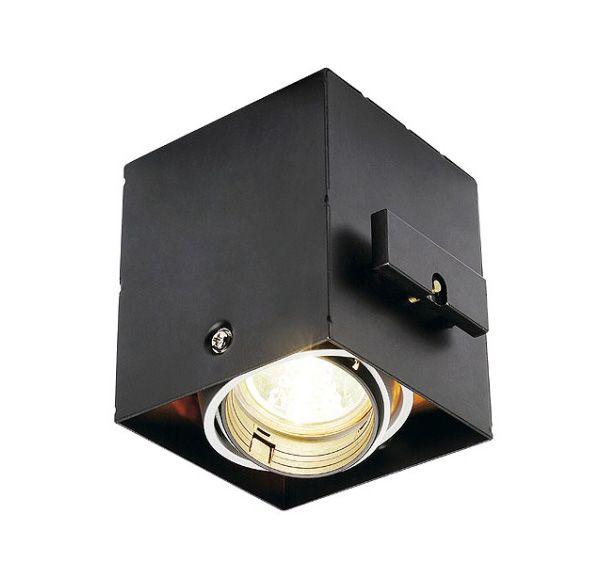AIXLIGHT PRO 50 1 FRAMELESS, inbouwframe, incl. plaasterkit, zwart