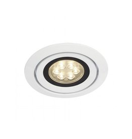 LUZO INTEGRATED LED, inbouwspot, rond, wit, 3000K, 13W, 36°