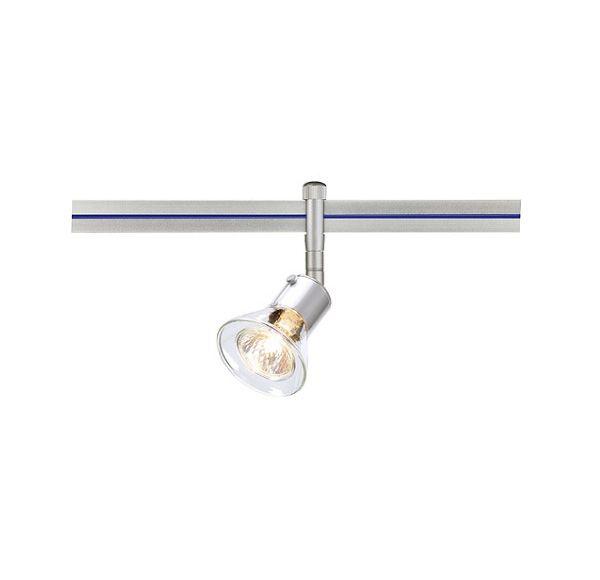 ANILA voor LINUX LIGHT, zilvergrijs, helder glas, GU5 ,3, max. 50W