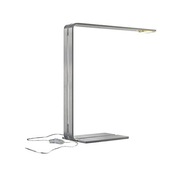 CYGNIS, tafellamp, alu-geborsteld, 1x 6W LED, 4000K