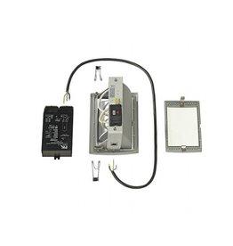 HQI-TS DL 150-SET, zilvergrijs, 150W incl. elektronische ballast en 100cm kabel