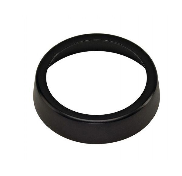 Decoring 51mm voor GU10, zwart