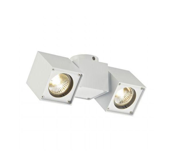 ALTRA DICE SPOT 2, plafond armatuur, wit, 2x GU10, max. 2x 50W