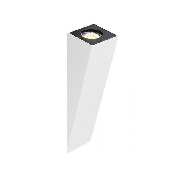 ALTRA DICE WL-2, wand armatuur, wit, GU10, max. 50W