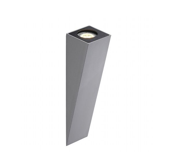 ALTRA DICE WL-2, wand armatuur, zilvergrijs, GU10, max. 50W