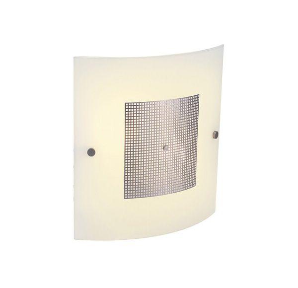 DARIUS, muur en plafond lamp, zilvergrijs, 2x E14 Energy Saver, max. 40W