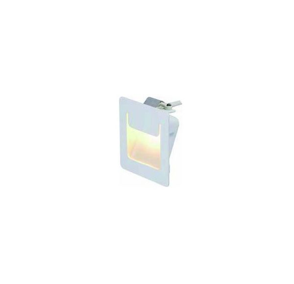 DOWNUNDER PURE, inbouw armatuur, vierkant, wit, 3,5W LED warmwit, 80x80mm