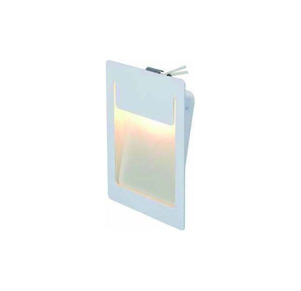 DOWNUNDER PURE, inbouw armatuur, vierkant, wit, 4,8W LED warmwit, 120x155mm