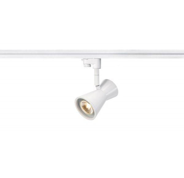 DIABO, spot, wit, GU10, max. 35W, incl. 3-fase adapter