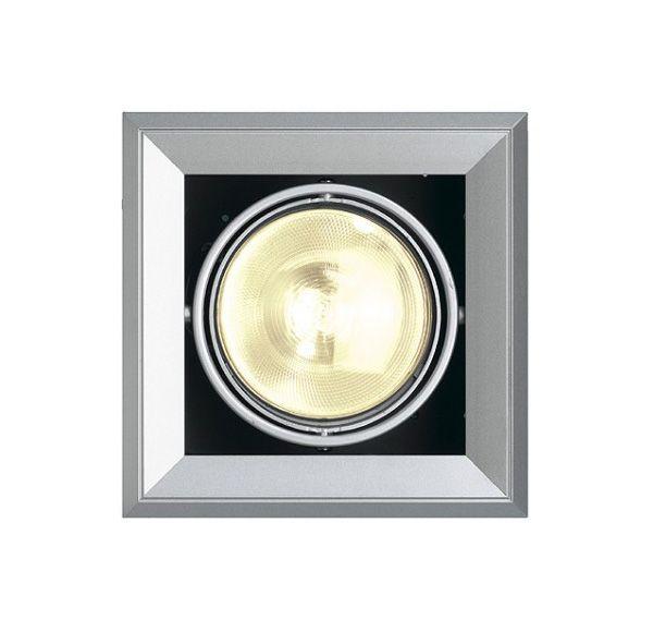 AIXLIGHT MOD 1 ES111, inbouw armatuur, zilvergrijs GU10, max. 75W, richtbaar