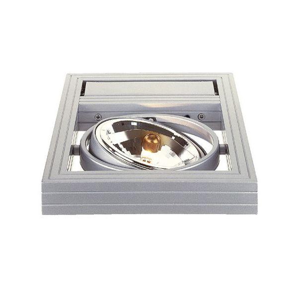 AIXLIGHT KARDAFRAME WALL QRB111, zilvergrijs, max. 50W