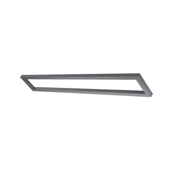 AIXLIGHT MODULE SYSTEEM BASIC FRAME 2, zilvergrijs, 160cm