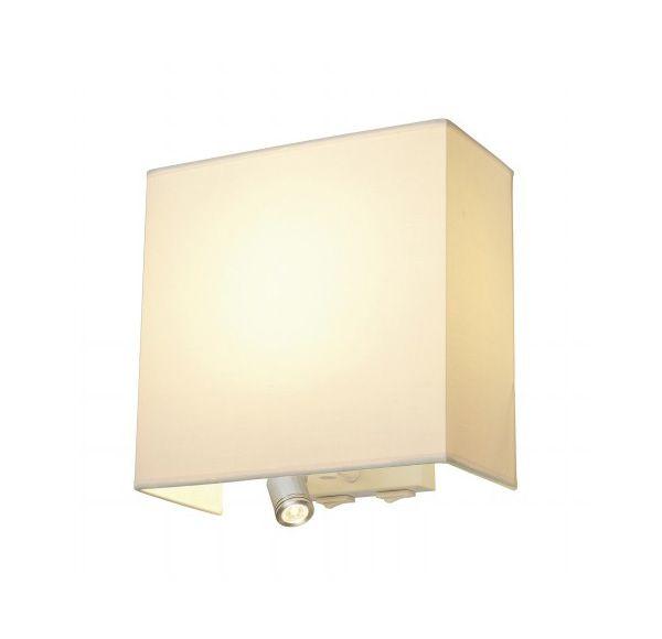 ACCANTO LEDSPOT, wand armatuur, wit, E27, LED 3000K, max. 24W